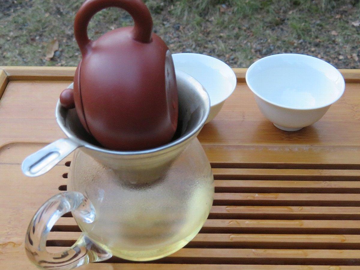 ウーロン茶の淹れ方