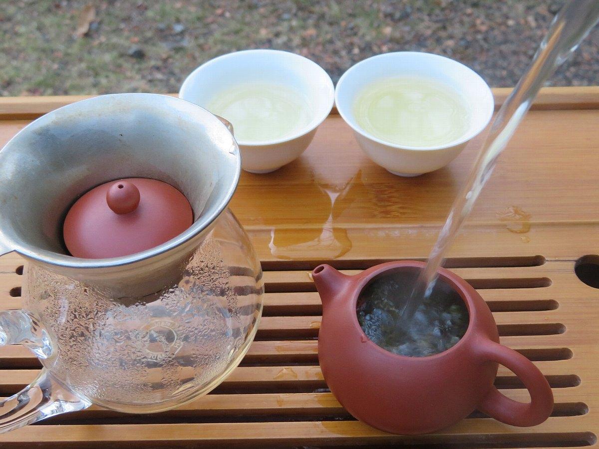 烏龍茶の淹れ方