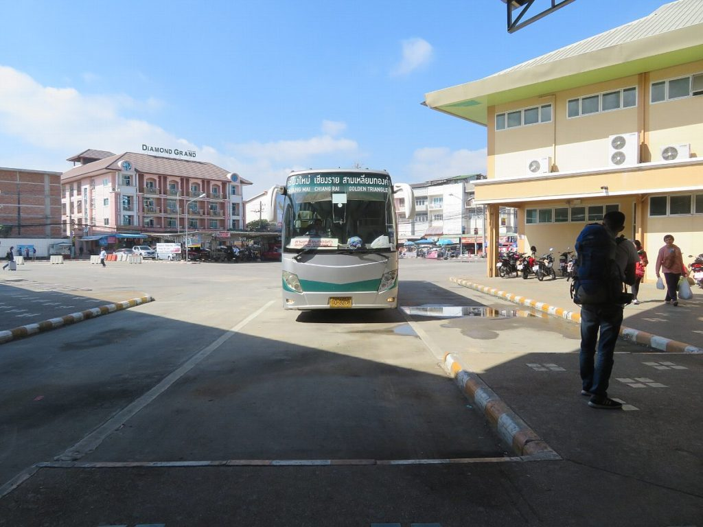チェンマイのバスターミナル