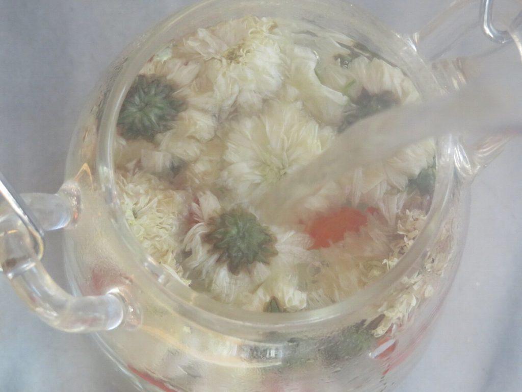 菊花クコの実