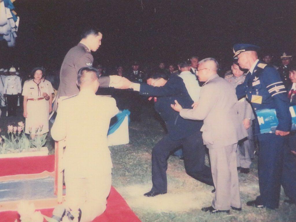 タイ王室から表彰される