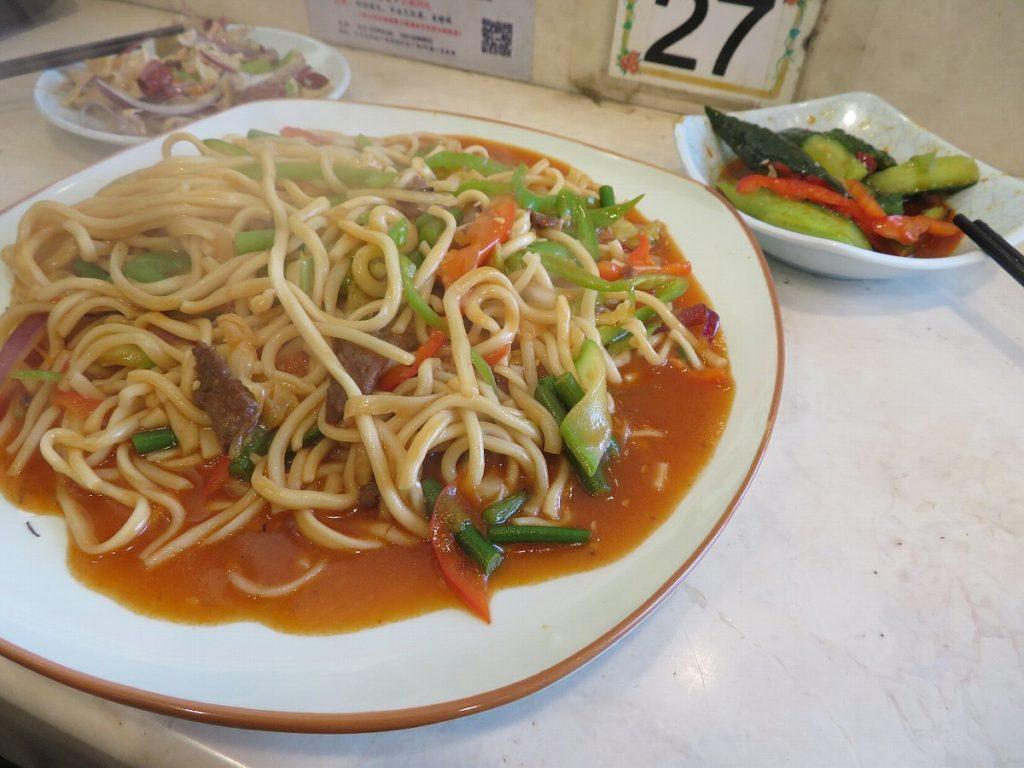 北京の食堂で