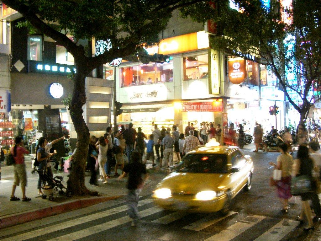 台北永康街