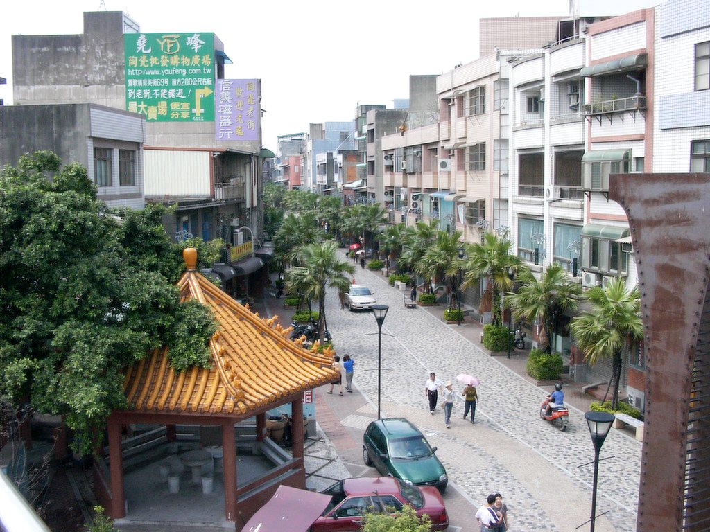 鶯歌の陶瓷老街