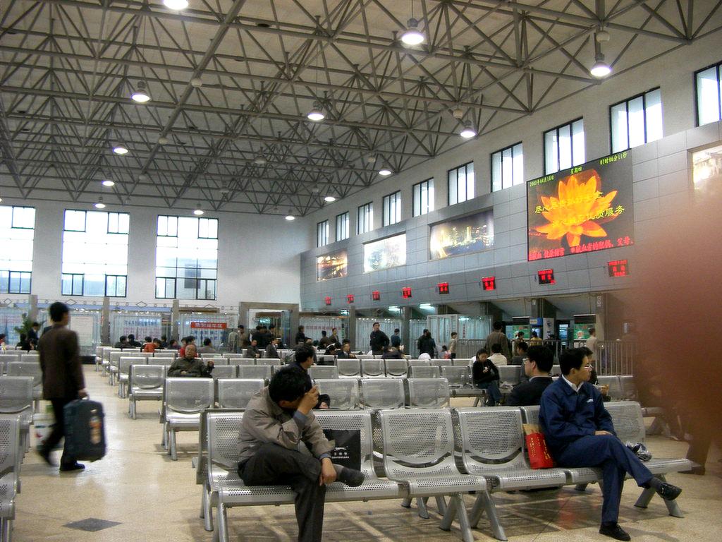 蘇州のバスステーション