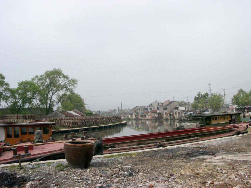 宜興の運河