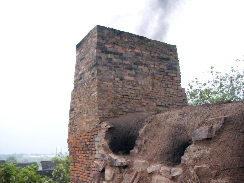 前墅龍窯の煙突