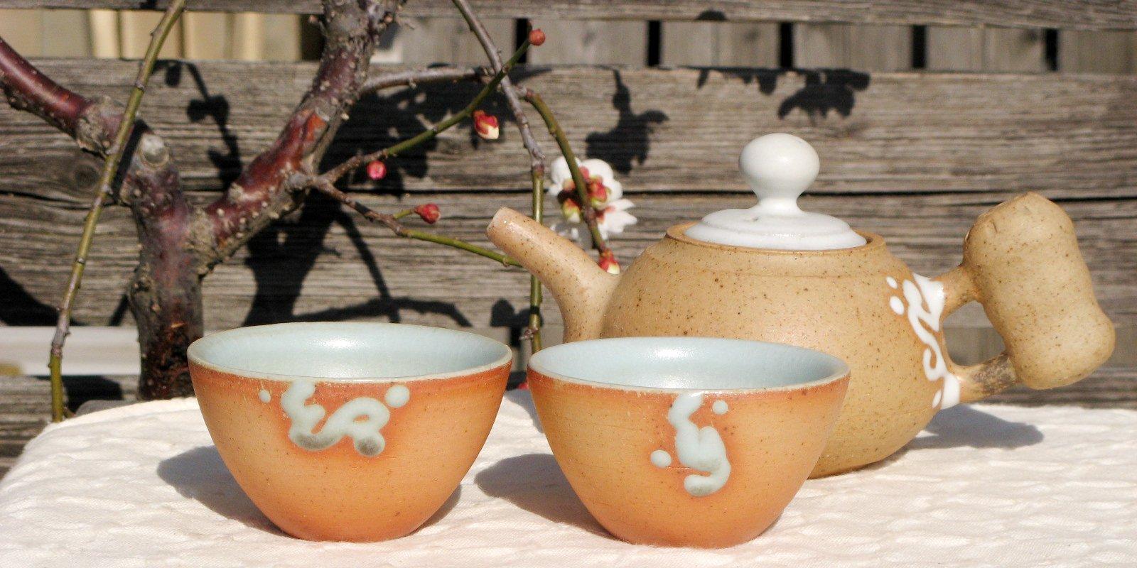 許徳家先生の茶壺と茶杯