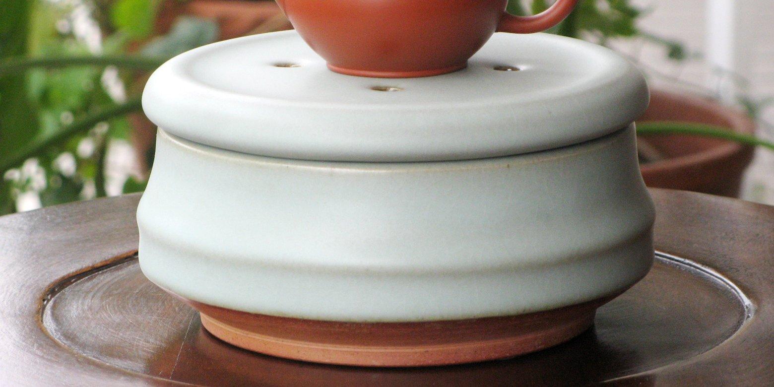 許徳家先生の陶器の茶盤